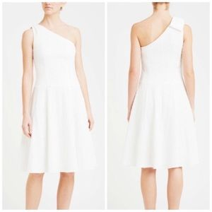 Nanette Lepore White Soirée One Shoulder Dress